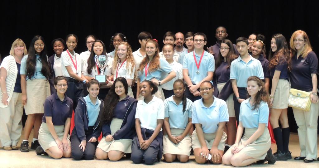 PACE 2014 8th Grade Win
